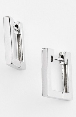 Women's Bony Levy Small Square Hoop Earrings (Nordstrom Exclusive) $420 thestylecure.com