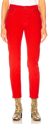 Acne Studios x Bla Konst Mel Corduroy Pant in Red | FWRD