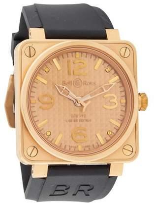 Bell & Ross Gold Ingot Watch