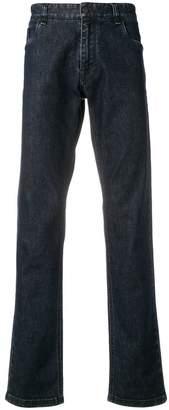 Fendi FF logo patch jeans