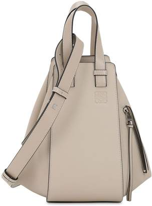 Loewe Small Hammock Leather Top Handle Bag