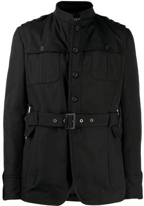 Gucci Pre-Owned 1990's belted jacket