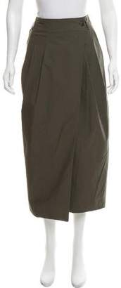 Pauw Wrap Midi Skirt