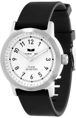 "Vestal Stainless Steel & Rubber Watch ""Alpha Bravo"""