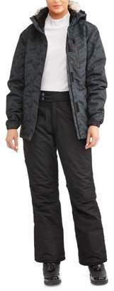 Iceburg Women's Insulated Snow Ski/Snowboarding Set--Complete With Ski Pants & Ski Jacket