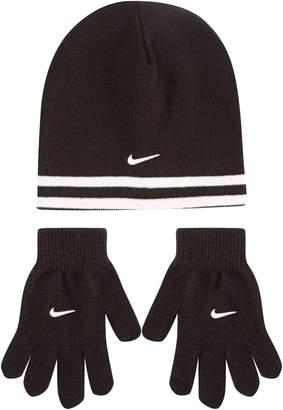 Nike SB Stripe Hat & Gloves Set