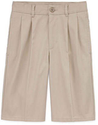 Izod EXCLUSIVE Boys 4-20 Pleated Chino Shorts