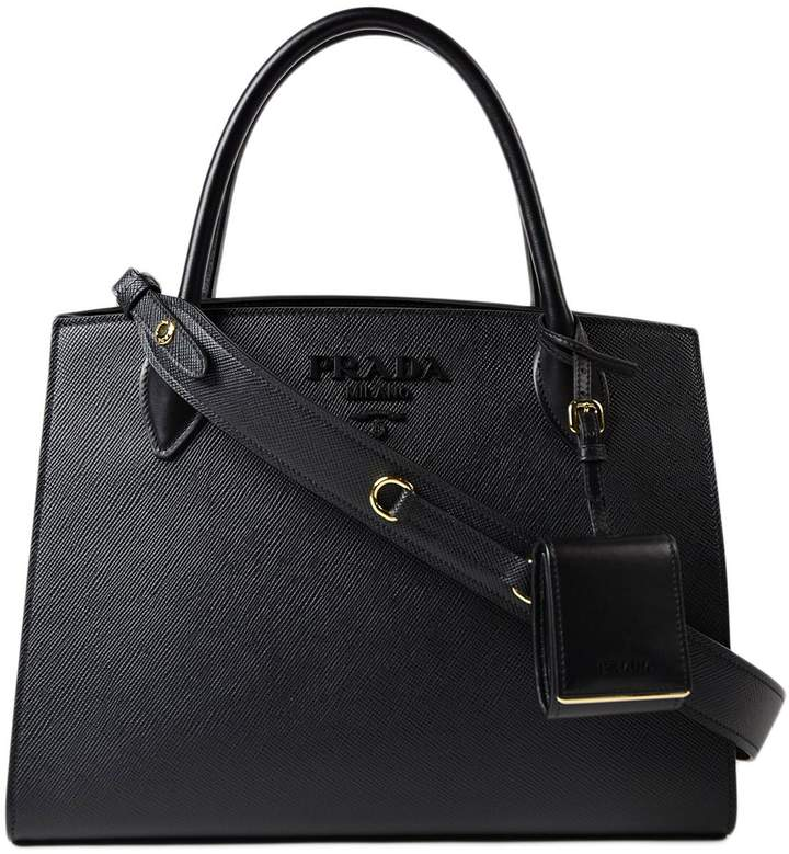 Prada Saff.cuir+city Calf Monochrome Bag