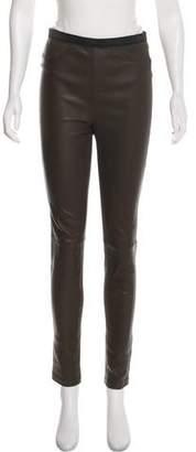 Neiman Marcus Leather Skinny Pants