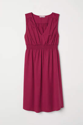 H&M MAMA Sleeveless Dress - Pink