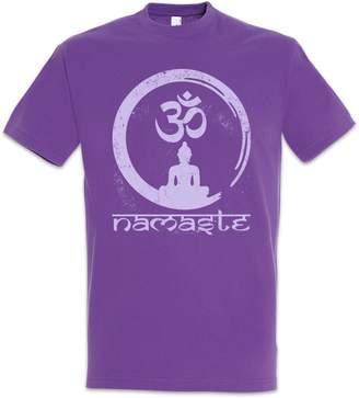 Namaste Urban Backwoods T-Shirt ? OM Japan Buddhismus Buddhism Religion Japanese