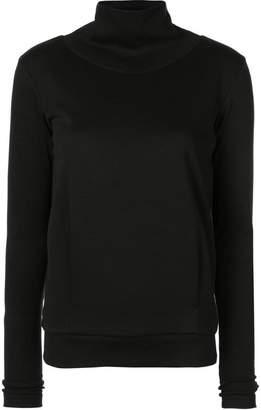 Alo Yoga funnel neck sports sweatshirt