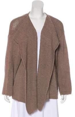 eskandar Cashmere & Silk-Blend Open Knit Cardigan