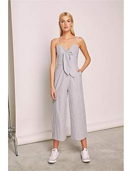 The Fifth Label Devotion Stripe Jumpsuit