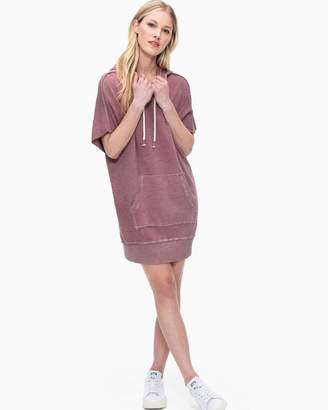 Splendid Cubist Active Hoodie Dress
