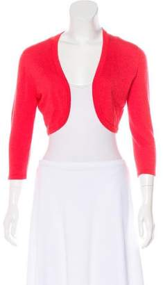 Oscar de la Renta Cashmere and Silk-Blend Shrug