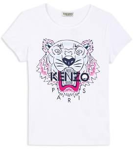 Kenzo Girls' Tiger Tee - Baby