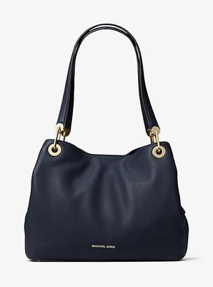 Michael Kors Raven Large Leather Shoulder Bag