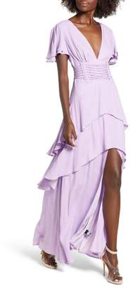 AFRM Micah Corset Maxi Dress