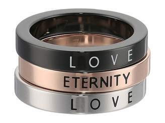 Calvin Klein Hook - Love Eternity Set Of 3 Rings