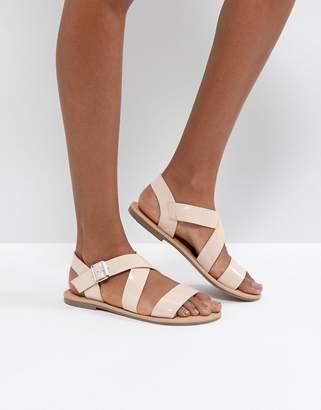 Asos DESIGN FELIZ Flat Sandals