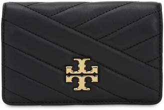 Tory Burch Slim Quilted Leather Wallet