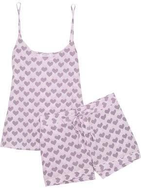Equipment Layla Printed Washed-Silk Pajama Set