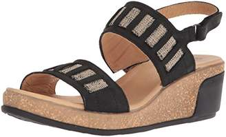 El Naturalista Women's N5006 Pleasant Leaves Wedge Sandal
