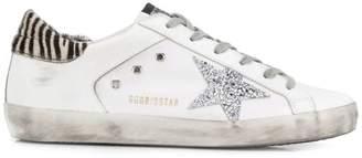 Golden Goose zebra print Superstar sneakers