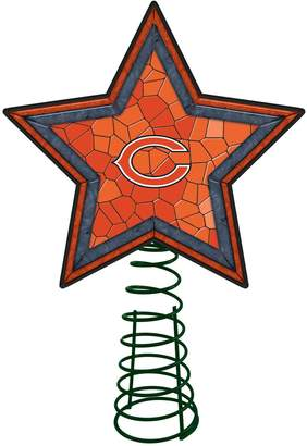 Chicago Bears Mosaic Christmas Tree Topper