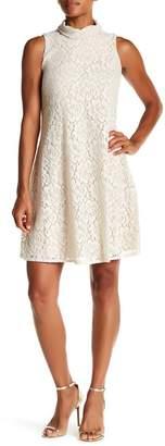 Taylor Cutout Back Lace Swing Dress
