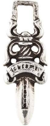 Chrome Hearts Sterling Silver Dagger Pendant