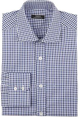 Fairfax Men's Checked Cotton Twill Dress Shirt