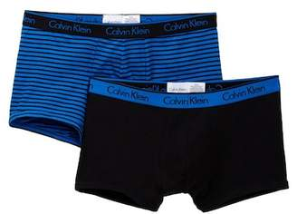 Calvin Klein Low Rise Trunk - Pack of 2 $34 thestylecure.com