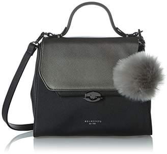 Belmondo Women 740282 Shoulder Bag Black Size: Dimensions (W x H x D): 30 x 24 x 14 cm