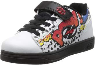 Heelys Boy's Dual up X2 Running Shoes, Navy/Blue Arrows