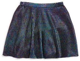 Mini Series Girls' Ribbed Iridescent Skirt, Little Kid - 100% Exclusive