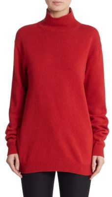 Marni Cape-Back Turtleneck Sweater