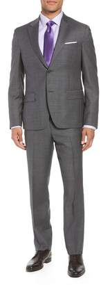 Nordstrom Trim Fit Sharkskin Wool Suit