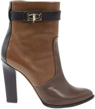 Givenchy Brown Leather Ankle boots