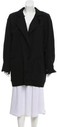 Ungaro Paris Notch-Lapel Short Coat