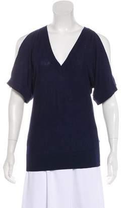 MICHAEL Michael Kors Knit Cold-Shoulder Top w/ Tags