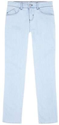 Giorgio Armani Light Wash Five Pocket Jeans