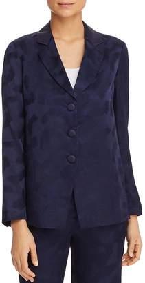 Giorgio Armani Printed Crossover-Back Jacket
