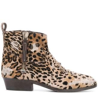 9cd768ff4826 Golden Goose Viand leopard print boots