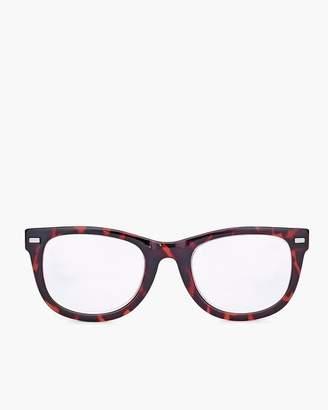 Red Faux-Tortoiseshell Reading Glasses