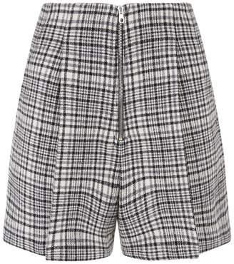 Sandro Check Shorts
