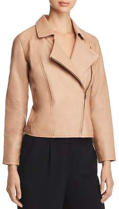 Eileen Fisher Leather Moto Jacket