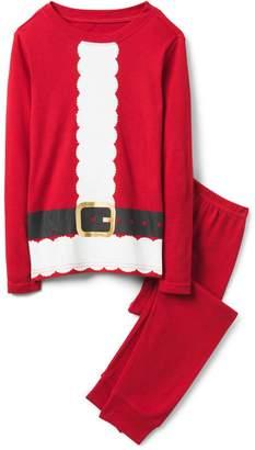 Crazy 8 Crazy8 Santa 2-Piece Pajama Set
