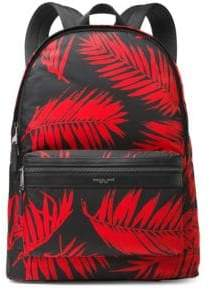 Michael Kors Palm Print Backpack
